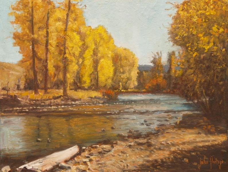 Wood River Shadows 18x24