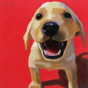 Puppy Love 6x6oil